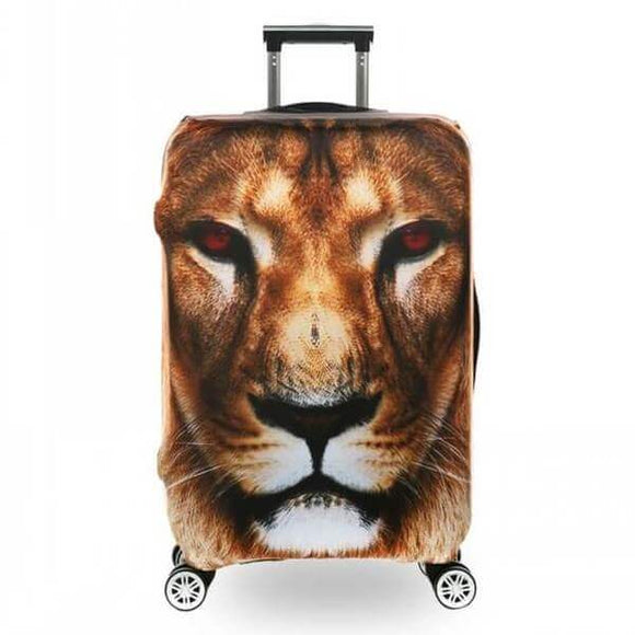 3D Lion | Premium Design | Luggage Suitcase Protective Cover - Small - Luggage Cover Encompass RL