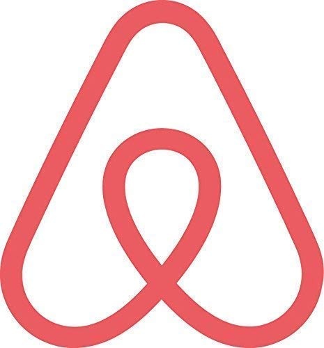 Set of (2) AIRBNB Symbol Premium Die-Cut Decal 4