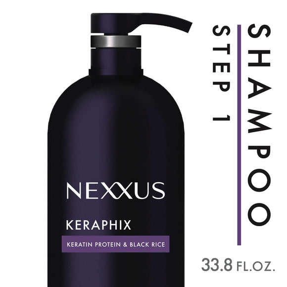 Nexxus Keraphix Shampoo, for Damaged Hair, 33.8 oz