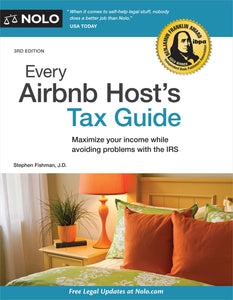Every Airbnb Host's Tax Guide (kindle edition)