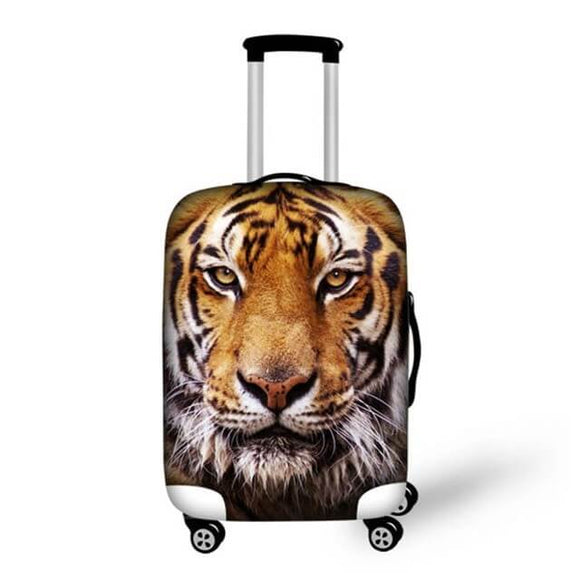 Bengal Tiger | Premium Design | Luggage Suitcase Protective Cover - Small - Luggage Cover Encompass RL