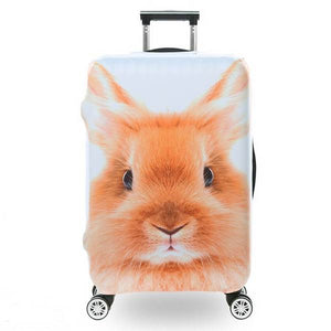 Bunny | Premium Design | Luggage Suitcase Protective Cover - Small - Luggage Cover Encompass RL