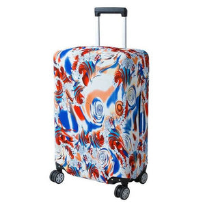 Colorful Swirls | Basic Design | Luggage Suitcase Protective Cover - Small - Luggage Cover Encompass RL