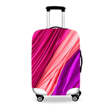 Girl Around World Cover #02 | Premium Design | Luggage Suitcase Protective Cover - Small - Encompass RL