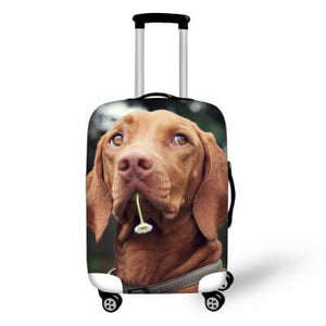 Labrador Dog #2 | Premium Design | Luggage Suitcase Protective Cover - Small - Luggage Cover Encompass RL