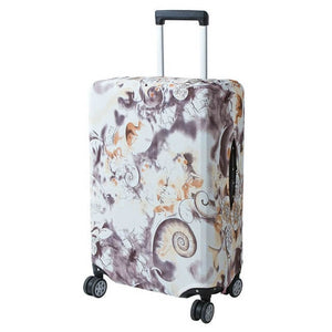 Fall Swirls | Basic Design | Luggage Suitcase Protective Cover - Small - Luggage Cover Encompass RL