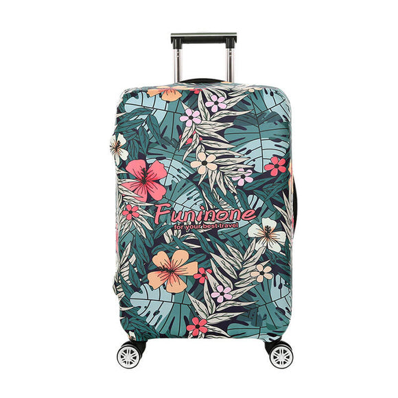 Tropical Hawaiian Forest | Standard Design | Luggage Suitcase Protective Cover - Small - Luggage Cover Encompass RL