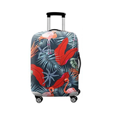 Flamingo Tropical Forest | Standard Design | Luggage Suitcase Protective Cover - Small - Luggage Cover Encompass RL