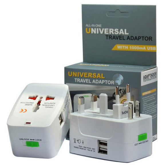 All in One Universal International Power Adapter - - Travel Essentials Encompass RL