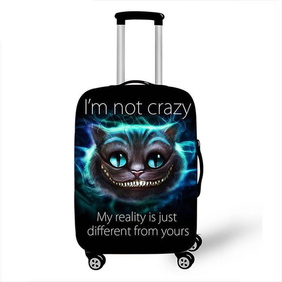 Cheshire Cat Disney | Standard Design | Luggage Suitcase Protective Cover