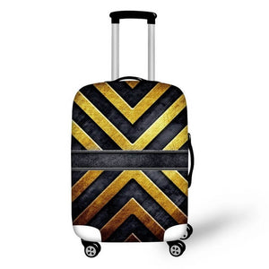 Titanium #1 | Premium Design | Luggage Suitcase Protective Cover - Small - Luggage Cover Encompass RL