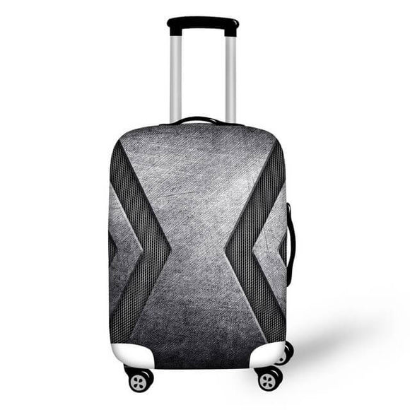 Titanium #5 | Premium Design | Luggage Suitcase Protective Cover - Small - Luggage Cover Encompass RL