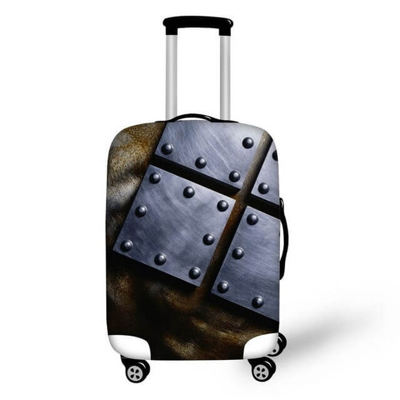 Titanium #6 | Premium Design | Luggage Suitcase Protective Cover - Small - Luggage Cover Encompass RL