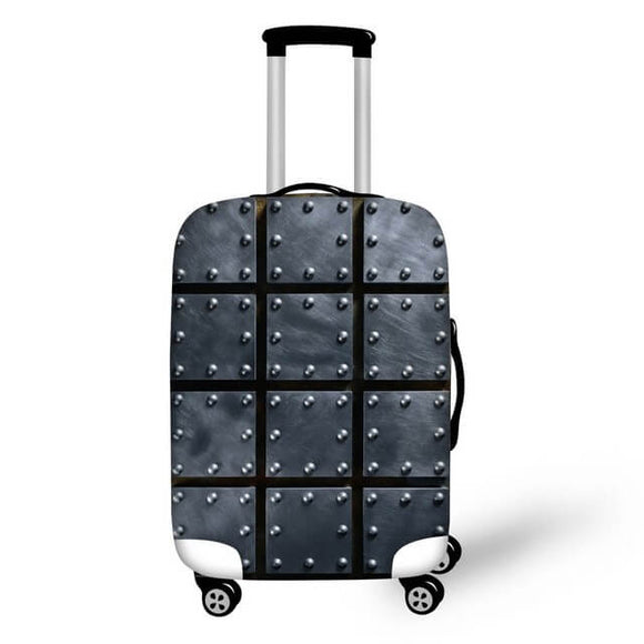 Titanium #7 | Premium Design | Luggage Suitcase Protective Cover - Small - Luggage Cover Encompass RL