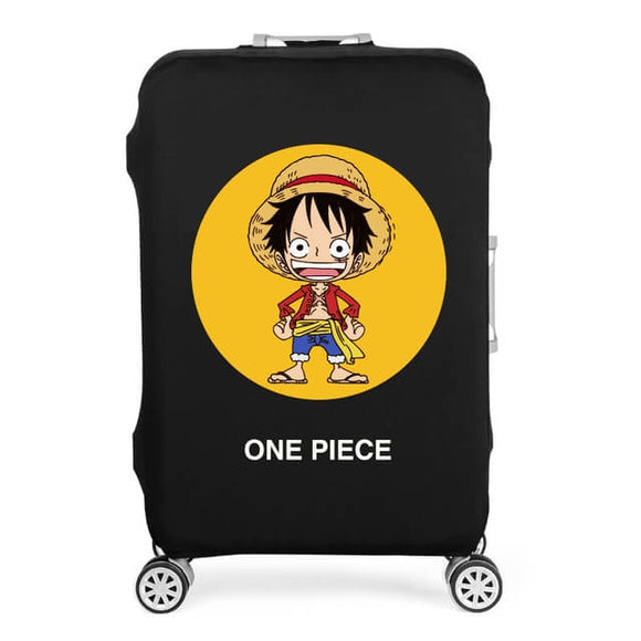 One Piece | Standard Design | Luggage Suitcase Protective Cover - Small - Luggage Cover Encompass RL