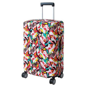 Pink Faces | Basic Design | Luggage Suitcase Protective Cover - Small - Luggage Cover Encompass RL
