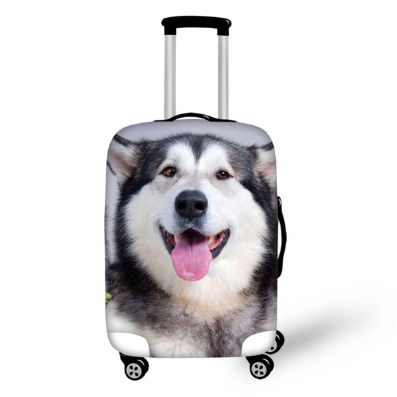 Husky Dog #1 | Premium Design | Luggage Suitcase Protective Cover - Small - Luggage Cover Encompass RL