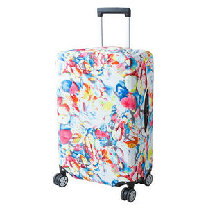 Random Colors | Basic Design | Luggage Suitcase Protective Cover - Small - Luggage Cover Encompass RL