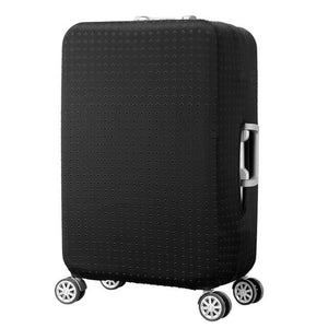 Riveted Black | Standard Design | Luggage Suitcase Protective Cover - Small - Luggage Cover Encompass RL