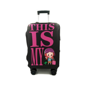 THIS IS MY Luggage | Standard Design | Luggage Suitcase Protective Cover - Small - Luggage Cover Encompass RL
