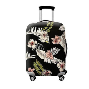Tropical Hibiscus | Standard Design | Luggage Suitcase Protective Cover - Small - Luggage Cover Encompass RL