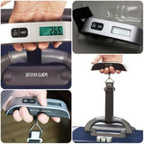 Digital Handheld Suitcase Luggage Scale - - Luggage Accessories Encompass RL