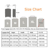 It's My Tourism Time | Standard Design | Luggage Suitcase Protective Cover - - Luggage Cover Encompass RL