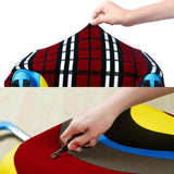 Food Prints | Premium Design | Luggage Suitcase Protective Cover - - Luggage Cover Encompass RL