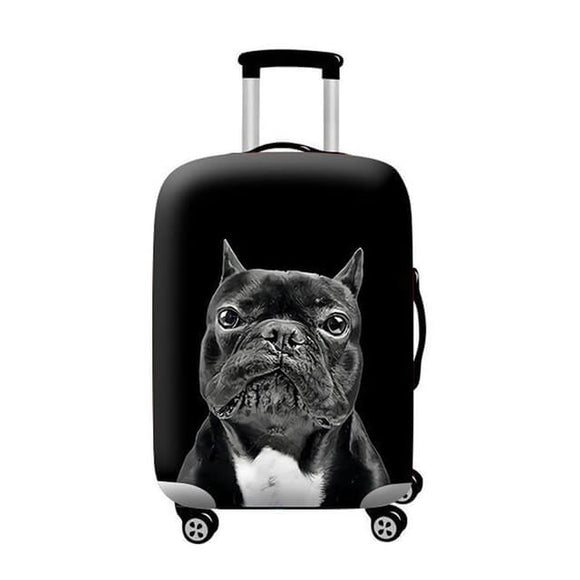 Pitbull Dog #1 | Standard Design | Luggage Suitcase Protective Cover - Small - Luggage Cover Encompass RL