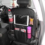 Multi-Pocket Ipad Holder | Car Back Seat Organizer Storage Bag