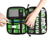Electronic Accessories Travel Organizer Bag |  Cable Cords Storage Case