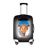 Peeking Giraffe 3 | Premium Design | Luggage Suitcase Protective Cover - Small - Luggage Cover Encompass RL