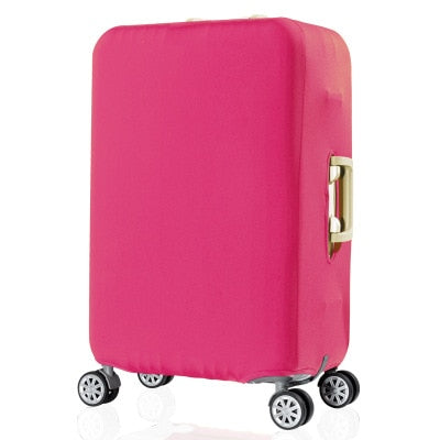 Pink Luggage Suitcase Protective Cover