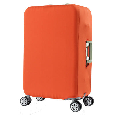 Orange Luggage Suitcase Protective Cover