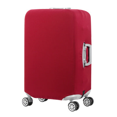 Red Luggage Suitcase Protective Cover