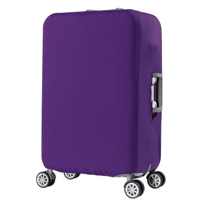 Purple Luggage Suitcase Protective Cover