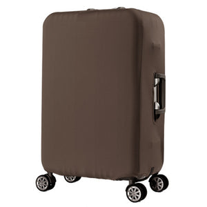 Brown Luggage Suitcase Protective Cover