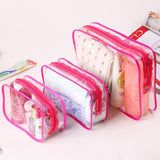 Transparent Cosmetic Bag - - Travel Bags Encompass RL