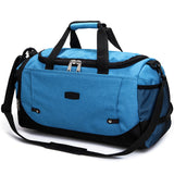 Weekend Travel Duffel Bag - Sky Blue - Travel Bags Encompass RL