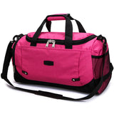 Weekend Travel Duffel Bag - Rose Red - Travel Bags Encompass RL
