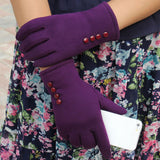Women's Warm Cotton Winter Gloves with Touch-screen Function - - Winter Gear Encompass RL