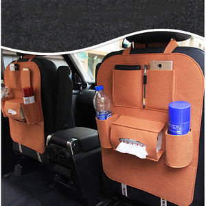 Car Backseat Organizer - Brown - Travel Tools Encompass RL