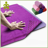 Non-Slip Fitness Yoga Mat Cover Towel - - Fitness Travel Encompass RL
