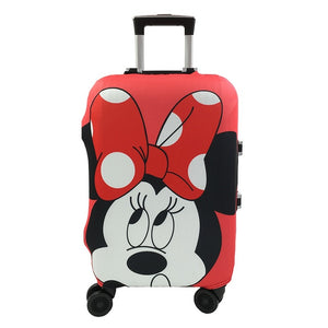 Minnie Mouse Disney | Standard Design | Luggage Suitcase Protective Cover - Small - Luggage Cover Encompass RL