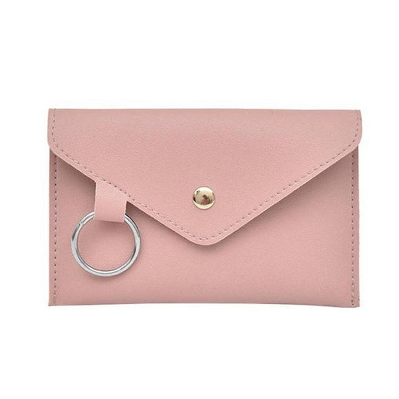 Leather Waist Belt Bag for Women - Pink - Travel Bags Encompass RL