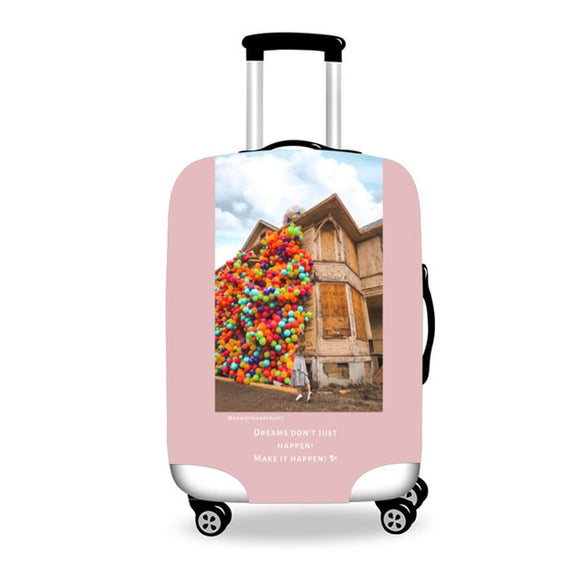 Anniepwanderlust Dreamer | Premium Design | Luggage Suitcase Protective Cover - Small - Encompass RL