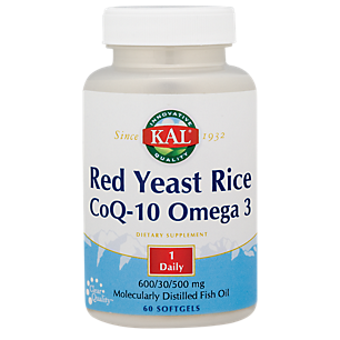 Red Yeast Rice/CoQ10 Omega 3