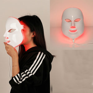 7 Colors Beauty Therapy Photon LED Facial Mask