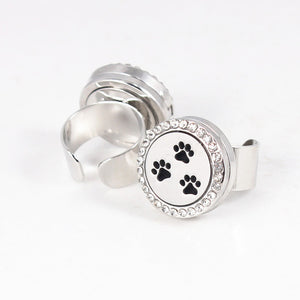 20mm Cat Diffuser Locket Ring