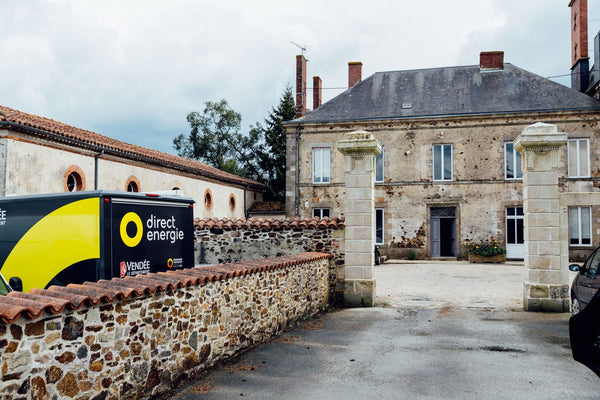 Inside Direct Energie's Vendee manor house